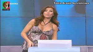 Sonia Araujo sensual no Aqui Portugal