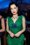 "Dita Von Teese @ Roman Polanski ""Wanted and Desired"" after party at Cannes - May 20"