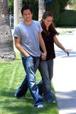 Jennifer Love Hewitt and Ross McCall in Hollywood May 29