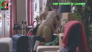 Inês Monteiro sensual na novela Vidas Opostas