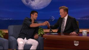 Novak Djokovic - interview @ Conan |8-03-2011| DD 5.1 MPEG2 HDTV 1080i