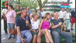 Joana Teles sensual na Rtp