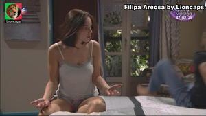 Filipa Areosa sensual na novela Amor Maior
