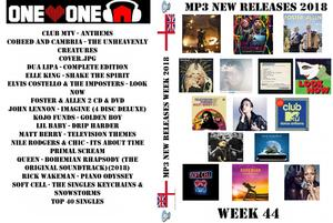MP3 New Releases 2018 Week 44