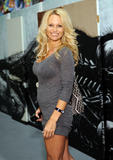 Pamela Anderson @ MOCA Art in the Streets Artists Opening in LA | April 14 | 6 leggy pics