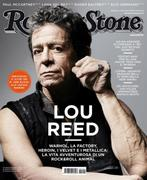 Lou Reed Rolling Stone Italy March 2012