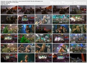 Avril Lavigne - Rock N Roll - Jimmy Kimmel 09/26/2013 HD 720p