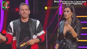 Rita Pereira sensual no Dança com as estrelas