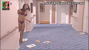 Andreia Rodrigues sensual na serie Maré Alta
