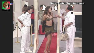 Sara Aleixo sensual na serie Maré Alta