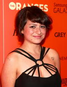 Alia Shawkat - The Oranges screening in New York 09/14/12
