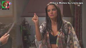 Sara Matos sensual na novela Terra Brava