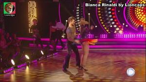 Bianca Rinaldi sensual no Dancing Brasil