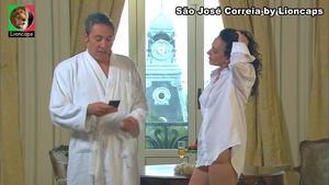 São José Correia nua na novela Mundo ao contrário