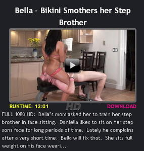 Bella – Bikini Smothers her Step Brother