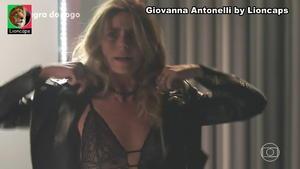 Giovanna Antonelli sensual na novela Regra do Jogo