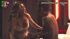 Juliana Paes sensual na novela Dona do Pedaço
