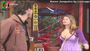 Karen Junqueira sensual em Malhação