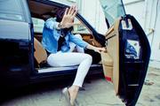 Rachel Nichols photoshoot for Else Jeans x3