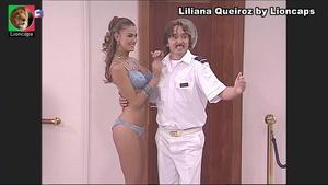 Liliana Queiroz sensual na serie Maré Alta