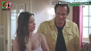Ines Monteiro sensual na novela Golpe de Sorte