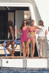 Bar Refaeli in pink bikini in Sardinia - Hot Celebs Home